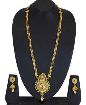 Gold Plated Stunning Necklace Set
