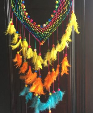 DREAM CATCHER WALL HANGING FOR POSITIVE ENERGY
