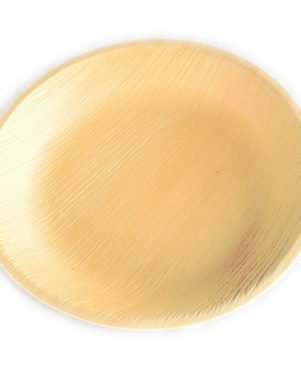 Areca leaf disposable plates 8inch X 8inch