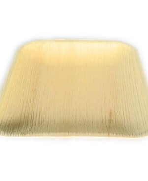 ARECA LEAF DISPOSABLE PLATES SQUARE 7INCH X 7INCH