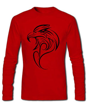 Wild Bird Eagle Graphics Printed T Shirt