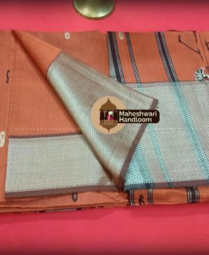 MAHESWARI HANDLOOM SILK COTTON SAREE