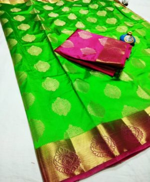 Women's Ethnic Tussar Silk Saree