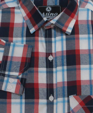 multicoloured Cotton checked regular Fit Casual Shirt