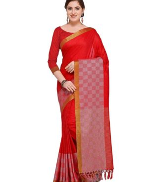 party wear saree with blouse piece