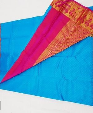kanchipuram pure silk korvai silk sarees