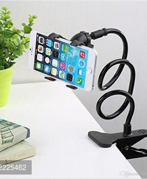 Snake like design adjustable phoneholder flexible stand with 360 degree rotation movement