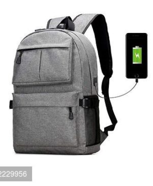 Laptop Backpack Anti Theft Backpack With USB Cord