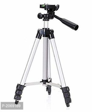 Portable foldable camera tripod