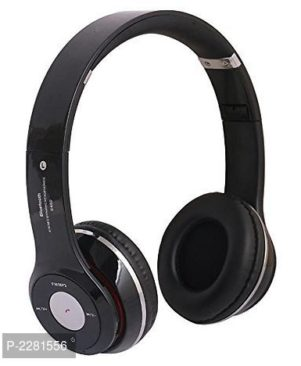 S460 Bluetooth Wired & Wireless Headphones With TF Card/Mic/Fm Support (Black)