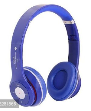 S460 Bluetooth Wired & Wireless Headphones With TF Card/Mic/Fm Support (blue)