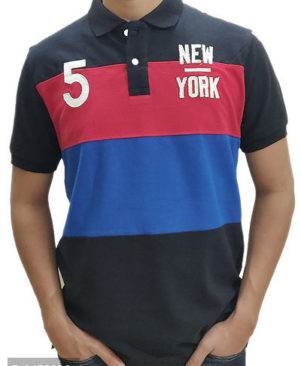 Tommy Hilger Self Pattern Polo T-Shirt