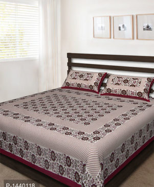Rajasthani Traditional Cotton Double Bedsheet