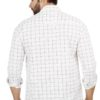 38.1red CHECKED COTTON REGULAR FIT CASUAL SHIRT