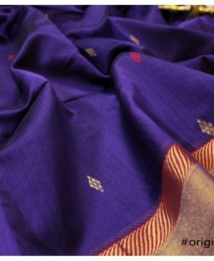 MAHESHWARI HANDLOOM All over butie saree