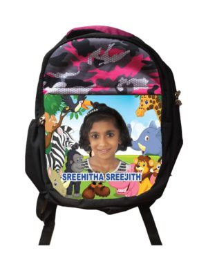 Personalized Face Printed School Bag
